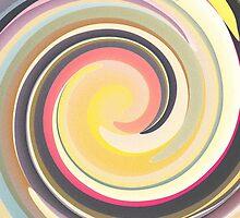 Vintage Colors In Curves by Phil Perkins