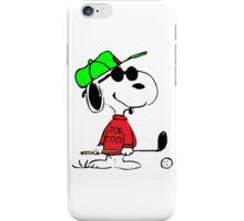 Joe Cool Playing Golf iPhone Case/Skin