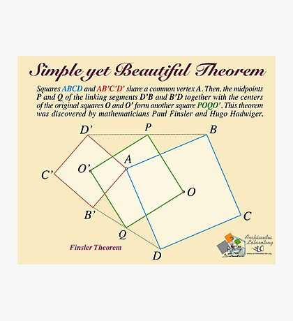 Finsler Theorem Photographic Print
