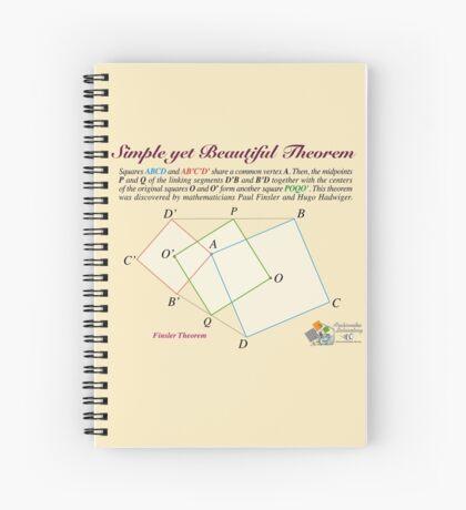Finsler Theorem Spiral Notebook