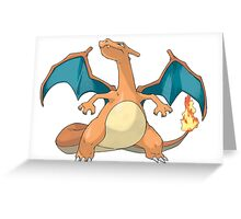 Charizard pokémon Greeting Card