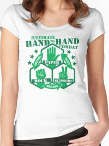Hand to Hand Combat Women's Fitted Scoop T-Shirt