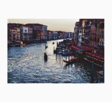 Impressions Of Venice - a Classic View of the Grand Canal One Piece - Short Sleeve