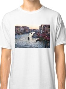 Impressions Of Venice - a Classic View of the Grand Canal Classic T-Shirt