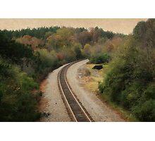 The Tracks Photographic Print
