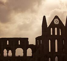 Whitby Abbey  by Carl Gaynor
