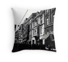 Istiklal Avenue,Istanbul Throw Pillow