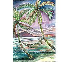Caribbean Hammock Photographic Print