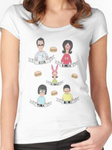 The Belcher Family Women's Fitted Scoop T-Shirt