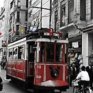 Tram in Beyoğlu,Istanbul. by rasim1