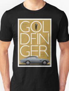 Goldfinger - James Bond Movie Poster Unisex T-Shirt