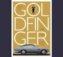 Goldfinger - James Bond Movie Poster Unisex T-Shirt