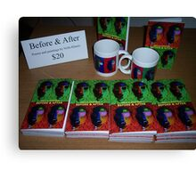 """My book """"Before & After"""" Canvas Print"""