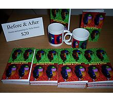 """My book """"Before & After"""" Photographic Print"""
