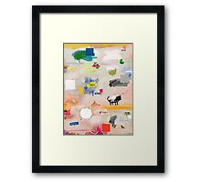 messages 08 Framed Print