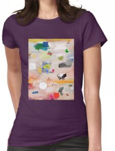 messages 08 Womens Fitted T-Shirt