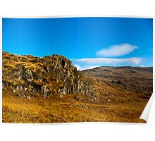 Colours of Autumn in the Duddon Valley Poster