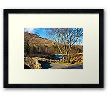 Birks Bridge over the River Duddon Framed Print