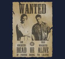 Supernatural - Wanted Dead or Alive  Kids Tee