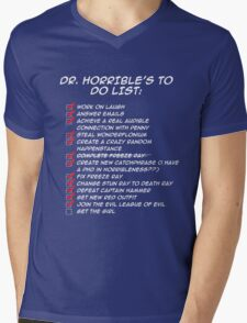 Dr. Horrible's To Do List  Mens V-Neck T-Shirt