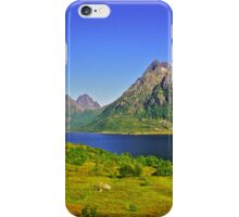 The New Seven Wonders Of The World. Lofoten Islands . Anno Domini 2007 . Doctor Faustus. iPhone Case/Skin