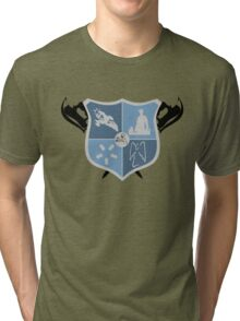 Joss Whedon Coat of Arms  Tri-blend T-Shirt