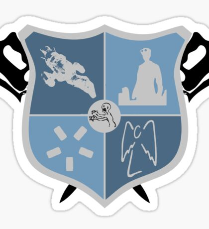 Joss Whedon Coat of Arms  Sticker