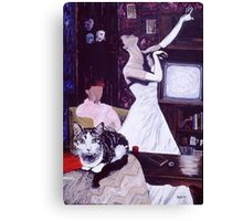 'This Elegant Muse' Canvas Print