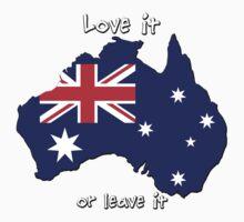 Australia | Love it - or leave it One Piece - Long Sleeve