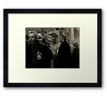 Street Food Framed Print