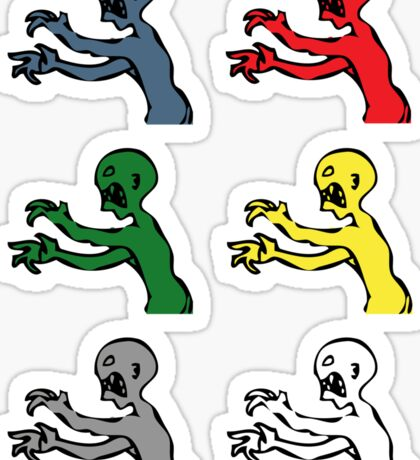 Grr. Argh. Colours  Sticker