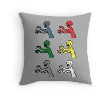 Grr. Argh. Colours  Throw Pillow