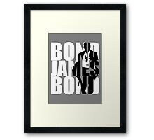 Bond, James Bond  Framed Print