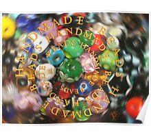 Handmade Beads Poster