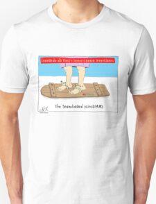 Da Vinci Snowboard T-Shirt