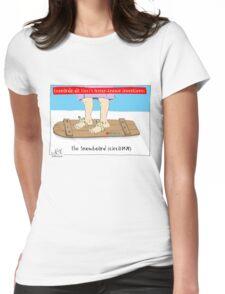 Da Vinci Snowboard Womens Fitted T-Shirt