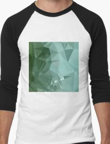 Zomp Green Abstract Low Polygon Background T-Shirt