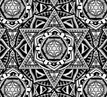 """The Gate"" Sacred Geometry Mandala by zkorvin"