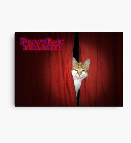 Pussycat Burlesque Canvas Print
