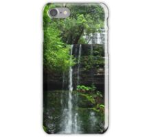 Russell Falls - Mt Field National Park iPhone Case/Skin