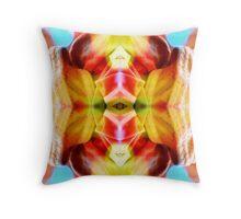 Lotus Eye Throw Pillow