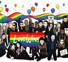 Love Wins the100 by FaPanini