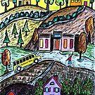 School Bus Days by Monica Engeler