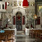 Greek Church inside by imagic