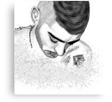 Angelic Zayn Canvas Print