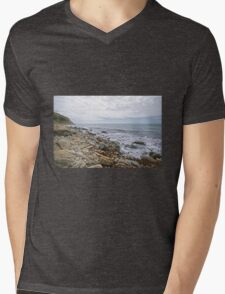 Osmington Mills Seascape 3 Mens V-Neck T-Shirt