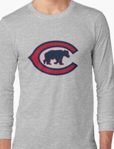 Chicago Cubs logo Long Sleeve T-Shirt