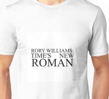 Rory Williams text Unisex T-Shirt