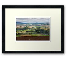 The Wind Turbine Farm Framed Print