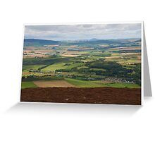 The Wind Turbine Farm Greeting Card